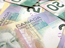 Canadian dollar Royalty Free Stock Photos