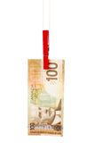 Canadian dollar Stock Photography
