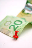 20 Canadian Dollar Bill Stock Image