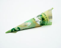 20 Canadian Dollar Bill. On white background Stock Photo