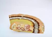 Canadian Dollar Royalty Free Stock Photo
