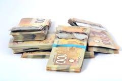 Canadian Dollar Stock Photo