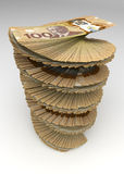 Canadian Dollar Tower Stock Image