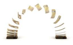 Canadian Dollar Transfer Stock Photography