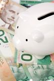 Canadian dollars Royalty Free Stock Images