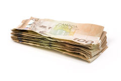 Canadian dollars Stock Images