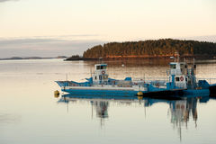 Canadian ferries royalty free stock photo