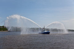 Canadian Fireboat Royalty Free Stock Photo