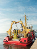 Canadian Fisheries and Oceans Boat Royalty Free Stock Images