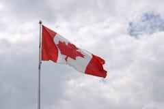 Canadian flag. A canadian flag Stock Photography
