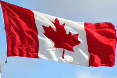 Canadian Flag 2 Stock Images