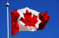 Canadian Flag Stock Image
