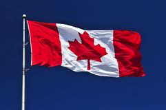 Free Canadian Flag Royalty Free Stock Photo - 6184365