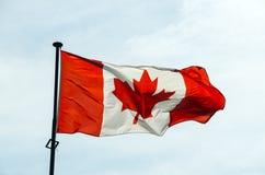 Canadian flag Stock Photos