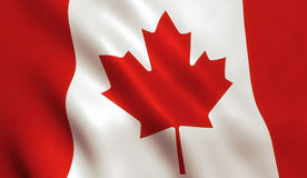 Canadian Flag - Canada Maple Leaf Royalty Free Stock Photography