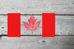 Canadian flag concept Royalty Free Stock Photo