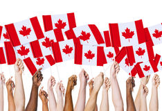 Canadian Flag Culture Nation Concept Royalty Free Stock Images