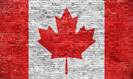 Canadian flag Royalty Free Stock Photos