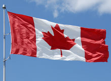 Canadian Flag Series Royalty Free Stock Photography