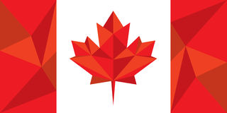 Canadian Flag Royalty Free Stock Photo