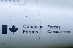 Canadian Forces Royalty Free Stock Photo
