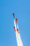 Canadian Forces Snowbirds Royalty Free Stock Photos
