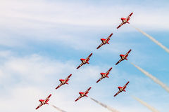 Canadian Forces Snowbirds Royalty Free Stock Images