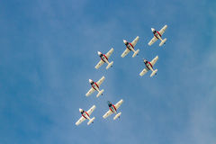 Canadian Forces Snowbirds Stock Photos