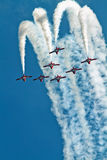 Canadian Forces Snowbirds Jet Aircraft Team Stock Photo