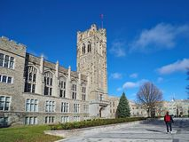 Free Canadian Gothic College Building Royalty Free Stock Images - 133734459