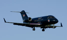 Canadian Government CRJ200 plane Royalty Free Stock Photos