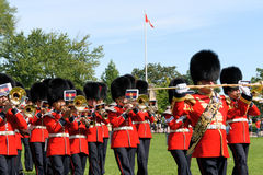 Canadian Grenadier Guards on parade in Ottawa, Canada Stock Image