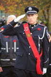 Canadian Honour Guard Stock Photography
