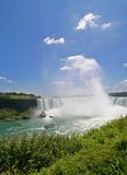 Canadian Horseshoe Falls- Niagara Falls. View of Canadian Horseshoe Falls at Niagara Falls Stock Image