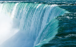 Canadian Horseshoe Falls at Niagara Stock Photo
