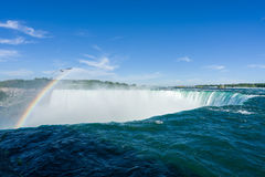Canadian Horseshoe Falls at Niagara Stock Photography
