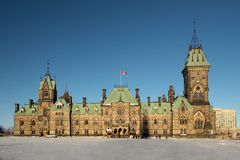 Canadian House of Parliament Stock Images