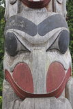 Canadian Indian Wood Carving Royalty Free Stock Photo