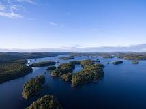 Canadian Island Lake stock photography