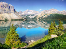 Canadian Landscape, Banff National Park Royalty Free Stock Photo