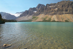 Canadian landscape with Bow lake. Alberta. Canada Stock Photo