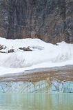 Canadian landscape with Mount Edith Cavell. Jasper. Alberta.  Royalty Free Stock Images