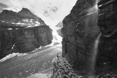 Canadian landscape in Plain of Six Glaciers. Alberta. Canada Royalty Free Stock Photos