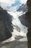 Canadian landscape in Plain of Six Glaciers. Alberta. Canada Royalty Free Stock Photo