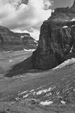 Canadian landscape in Plain of Six Glaciers. Alberta. Canada Royalty Free Stock Images