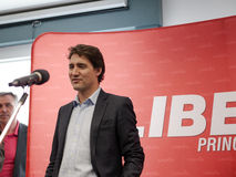 Canadian Liberal Leader Justin Trudeau Stock Photos