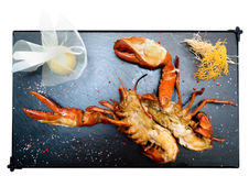 Canadian Lobster, Grilled Stock Image