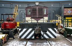 Canadian locomotive Stock Image