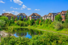 Canadian luxury  houses in Toronto Stock Images