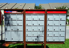 Canadian Mailboxes Royalty Free Stock Photo